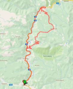 Svoge-Lakatnik-map